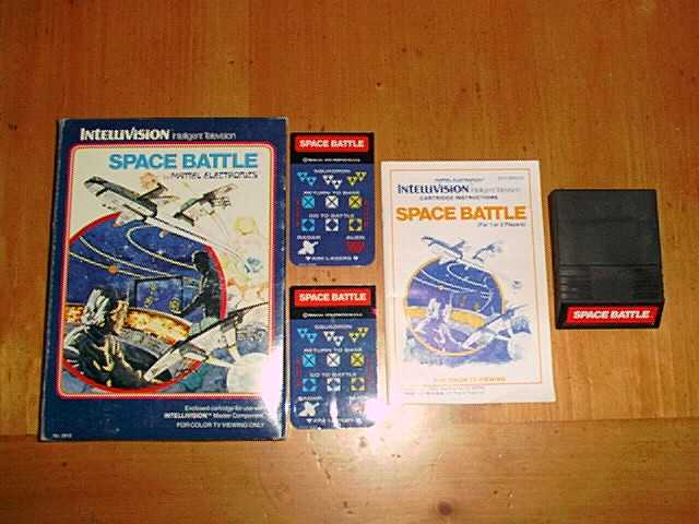 Classic Video Games Intellivision Pictures
